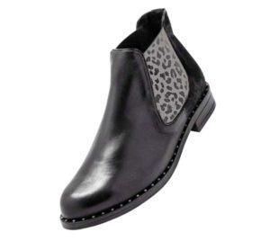 Boots tendance léopard vente à domicile