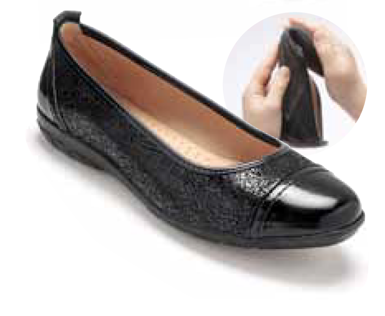 chaussures chics souliers ballerine