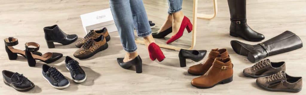chaussures conforts pour hôtesse